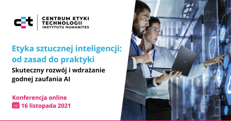Ilustracja wpisu na temat konferencji Etyka sztucznej inteligencji_od teorii do praktyki
